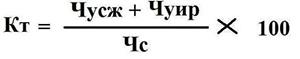 Формула коэффициент текучести