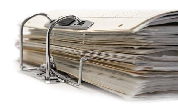 Скрепленные документы