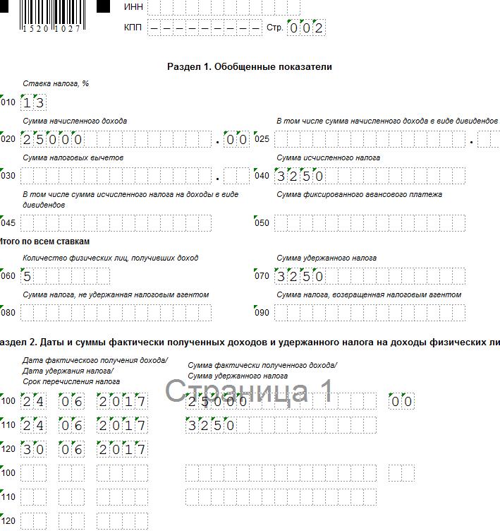 Компенсация неиспользованного отпуска приувольнении в 6-НДФЛ