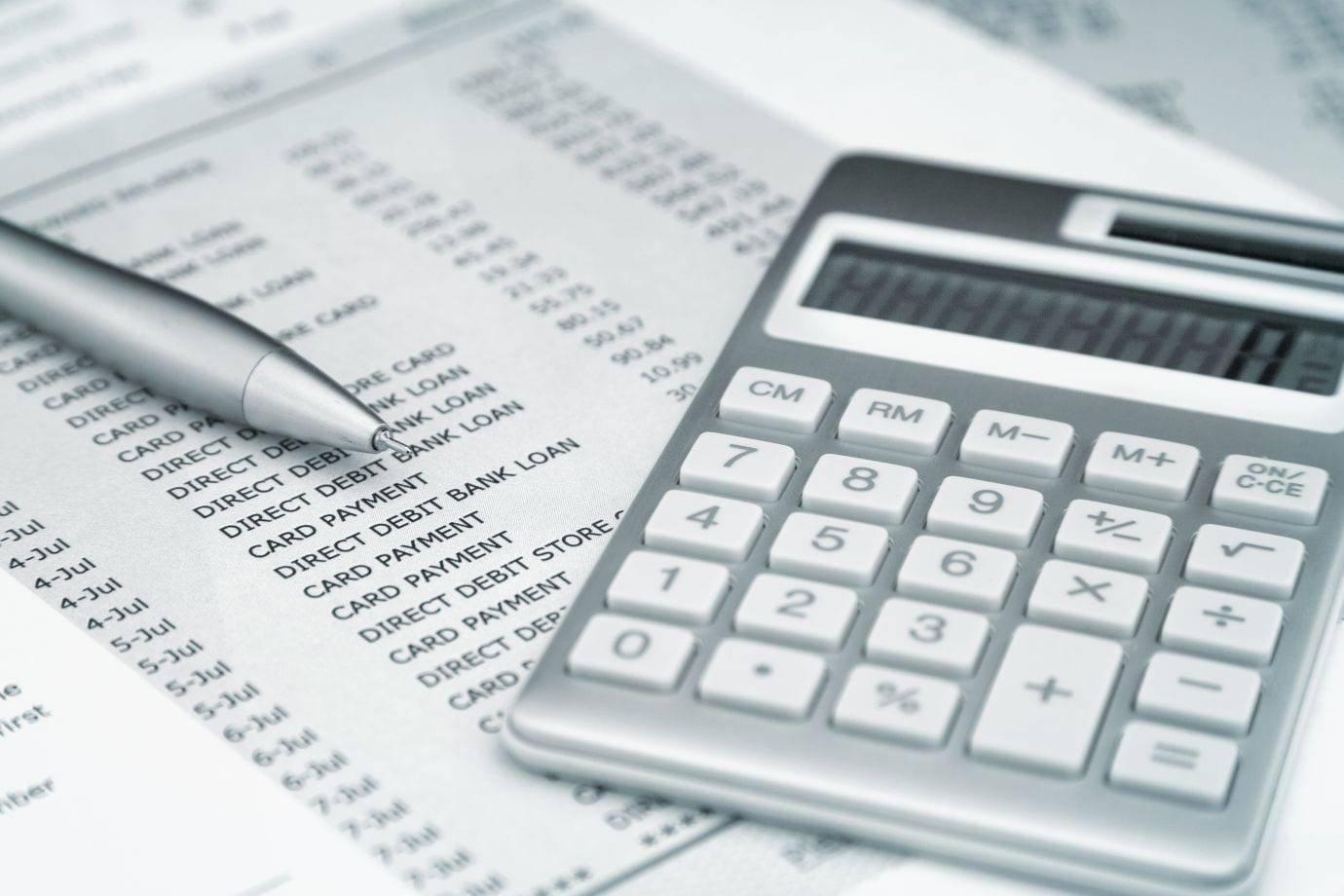 Расчёт подоходного налога